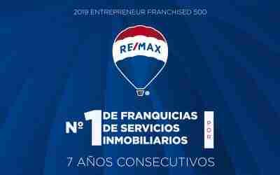 REMAX internacional, nombrada la franquicia inmobiliaria número 1 a nivel mundial por séptimo año consecutivo
