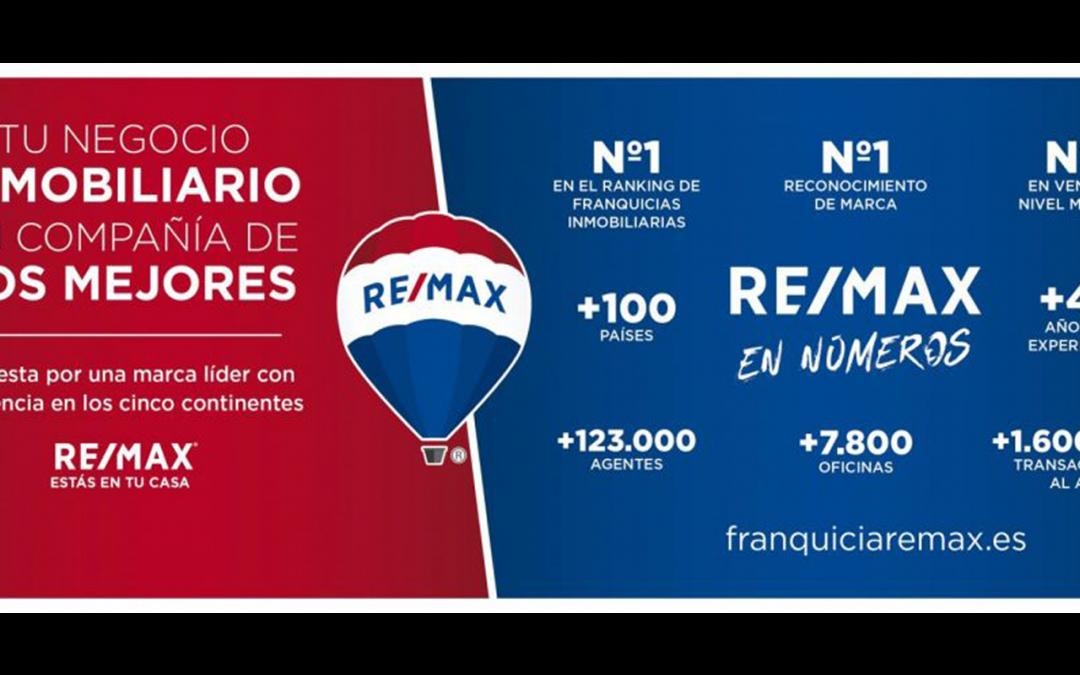 Franquicia inmobiliaria de éxito: REMAX España