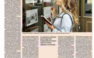 Diario Expansión. Las agencias inmobiliarias, a la expectativa