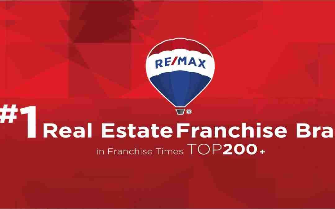 REMAX, la franquiciada inmobiliaria número 1, según el estudio Franchise Times 2019 TOP 200 + ®