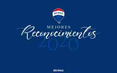 Los mejores reconocimientos de REMAX en el 2020